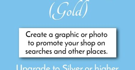 Sample Shop (Gold): Shop Card