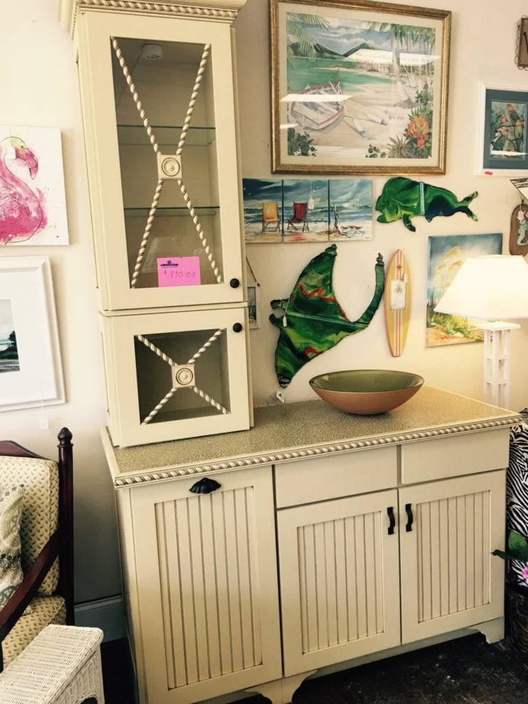 """Custom Bathroom cabinet • This custom cabinet made by Cabinet Market in Myrtle Beach is a stunning piece of furniture.  It has built in laundry hamper, the tower has glass shelves for storage and is lit .  The cabinet is 93"""" height, 58"""" wide and 23"""" deep."""
