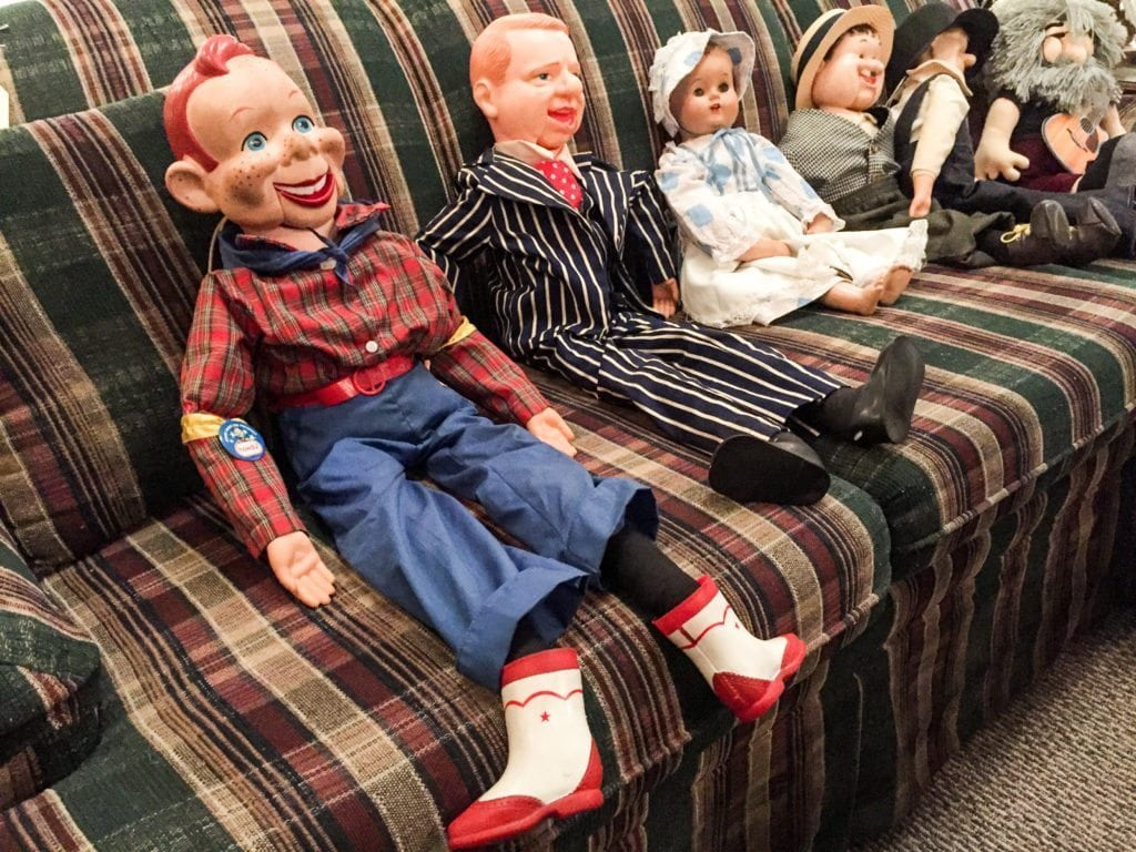 Howdy Doody Doll • Nice selection of various ventriloquist dolls.