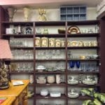 Assorted Glassware • This area has both vintage and modern glassware, China, and ceramic pieces. Come find that perfect piece for Your Home.