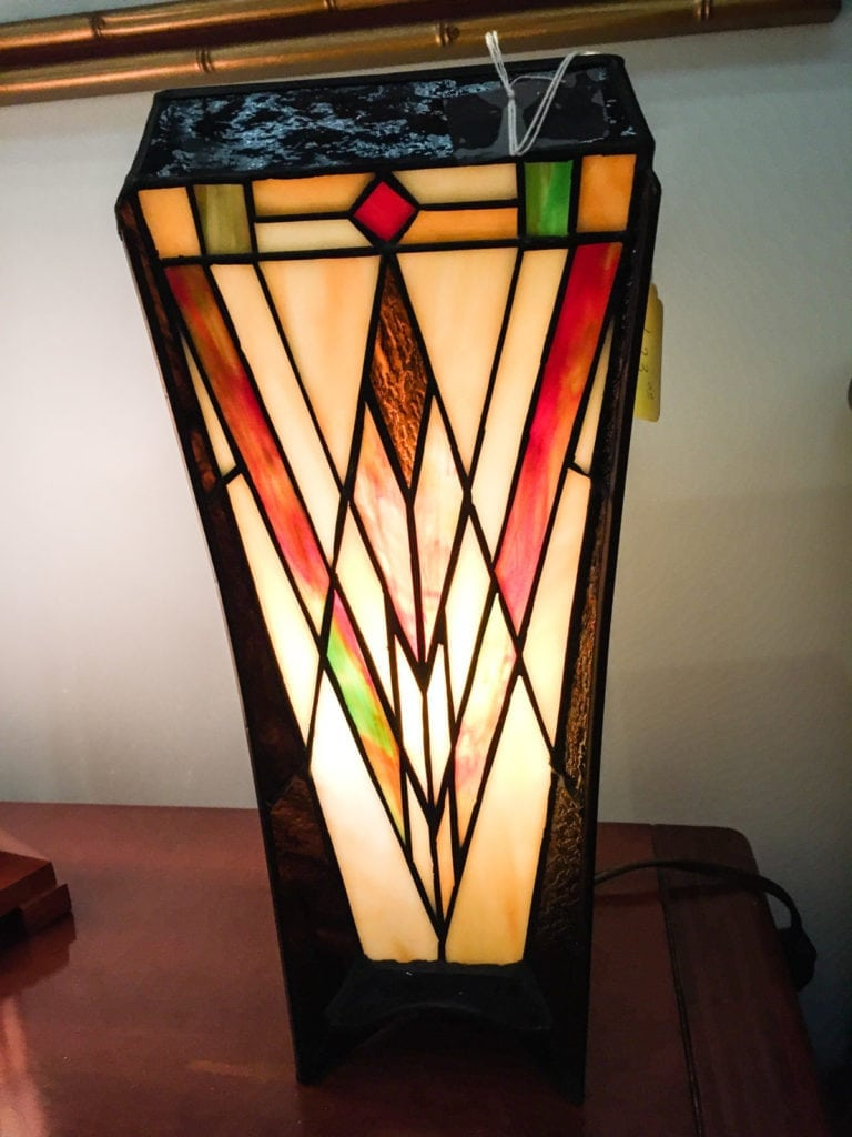 Stained Glass Lamp •