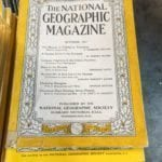 National Geogrphic Magazines •