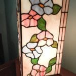 Flower Stained Glass Lamp •