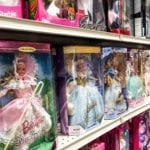 Large Selection of Barbies •