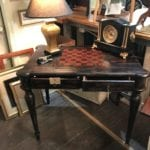 New with tags game table • Uttermost Game Table. New with Tags. Reverses from Chess/Checkers to Backgammon. Has four drawers to store game pieces and other accessories. Great accent piece that's also FUNctional! This table would add to any decor!