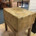Butcher block • Antique Butcher Block