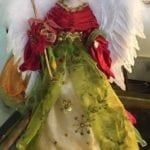 Christmas Decoration • Beautiful angel tree topper