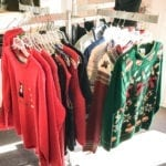 Christmas Sweaters • We have a great selection of Christmas sweaters. We carry beautiful heavy weight sweaters along with light weight ones. Come see what we have!