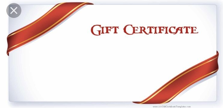 Gift Certificate • Our gift certificates make great gifts. They can be used towards the purchase of any of our fabulous vintage decor items, our beautiful ReDesigned furniture, or any of our services: furniture ReDesign, custom lighting design, barn door design and more!