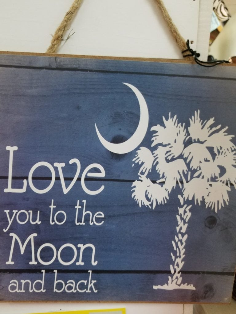 Wood plaque • This wood plaque is the saying we use all the time for those special people in our lives!