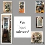 Mirrors, Mirrors, Mirrors! • Mirrors are a great way to open up a space, using reflections to make a room feel larger than it actually is. A stylish mirror can add sparkle and warmth to any room! It's a new year and time to update your decor! Come check out our fabulous collection!