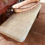 "Oversized Bench • This oversized bench is great for extra seating in a kitchen or o sunroom.  It is 48"" wife and 21""deep"