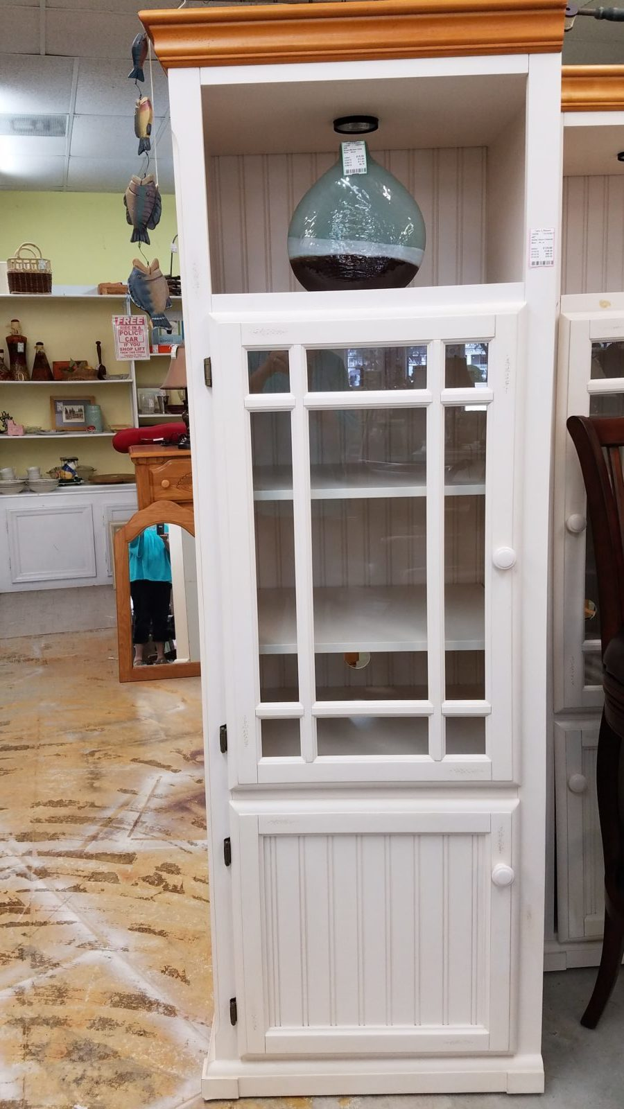 White tower cabinet • We have 2 for sale separately
