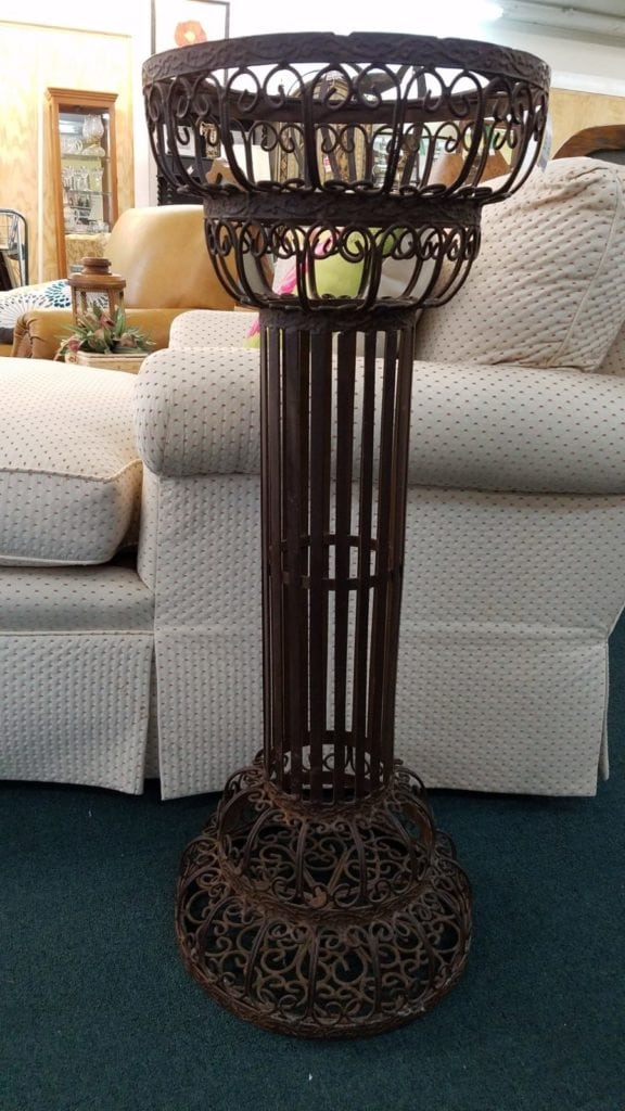 Metal plant stand/column •