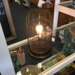 Edison Lighting • New from market the trending style industrial country light.  Edison bulb and wire cage lighting.