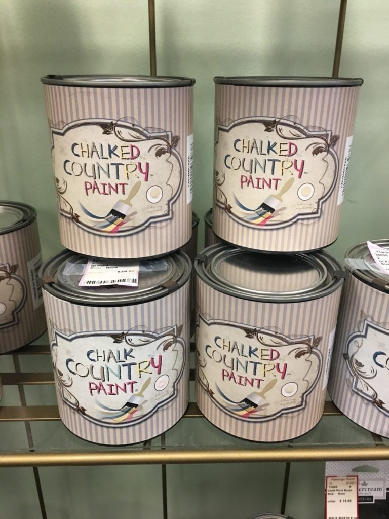 Country Chalk Paints • Demonstrations and classes Watch the announcements for next class