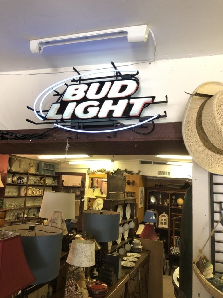 Neon Bud Light Sign • Neon Bud Light Sign in excellent condition.