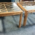 """Larger Coffee or End Tables (2) • I have two larger coffee tables or end tables depending on where you're using it at could be used for either depending on the space these are 29 1/2"""" by 29 1/2"""" by 20"""" tall they are $40 each"""