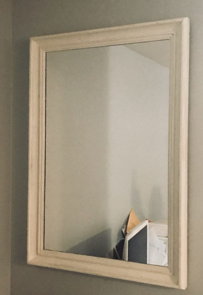 """Large Mirror • Refinished from blah to gorgeous, I gave this large mirror a new lion with a fabulous paint color and dark wax. Great for a vanity hung vertically or horizontally.  40""""x28"""""""