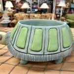 Cute Turtle Planter • Aniamated turtle planter will look great in a sunroom.