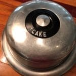 Vintage Cake Taker - 1950's • What a conversation piece! Arrive at your next pot luck or get = together with dessert in this vintage cake taker, and you'll be the envy of everyone there!