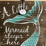 Mermaid Placque •