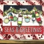 Beach Christmas Signs • Beautiful beach Christmas signs. We have different scenes to choose from Homemade and Handcrafted for our Two locations by a local artist we have limited quantities makes a perfect Christmas gift.
