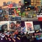 NASCAR • NASCAR : CEREAL,LUNCH BOXES, TINS, CARDS,LIMITED EDITION ITEMS, MINI HELMETS,CARS ALL SIZES, ORNAMENTS, COASTERS, BALL, LICENSES PLATES, PLAQUES, TICKET STUBS, HATS, VHS RACES & MORE