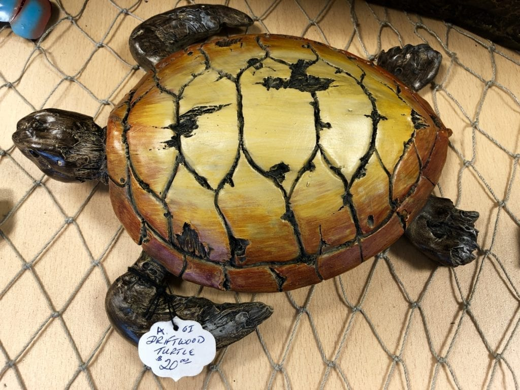 Driftwood Turtle • Beautiful colorful turtle on driftwood. Makes a wonderful gift for any turtle lover or those who love the sea.