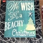 BeachTheme Handcrafted Signs • Beautiful beach Christmas signs. We have different scenes to choose from Homemade and Handcrafted for our Two locations by a local artist we have limited quantities makes a perfect Christmas gift.