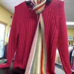 Sweater/Scarf • Ladies Size XL